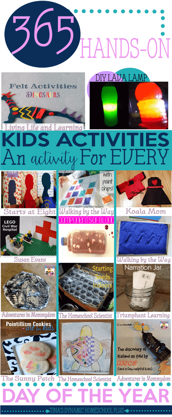 365 Days Hands-On Homeschool Activities