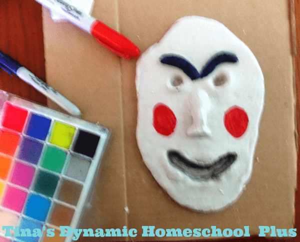 Easy Greek Mask 3