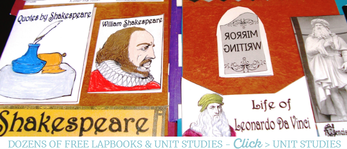 Dozens of free History, Geography and Science Lapbooks @ Tina's Dynamic Homeschool Plus