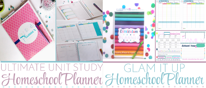 Ultimate Homeschool Unit Study & Glam It Up Planner @ Tina's Dynamic Homeschool Plus