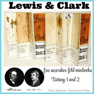▼ Exploring to Revolution - Lewis and Clark HUGE lapbook and homeschool unit study.