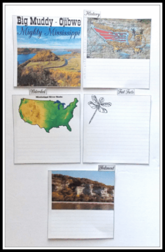 Big Muddy free minibook about the Mississippi River 2 @ Tina's Dynamic Homeschool Plus1