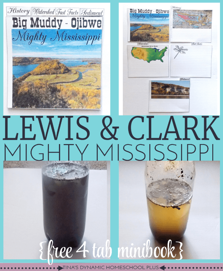 Lewis and Clark Mighty Mississippi @ Tina's Dynamic Homeschool Plus