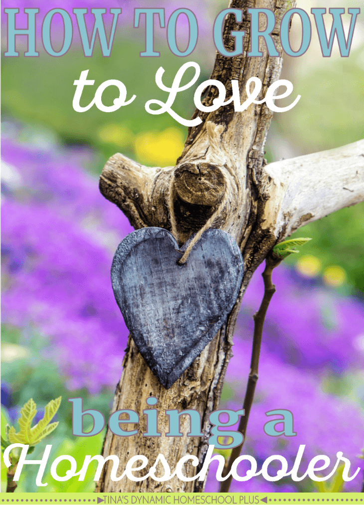 How to Grow to Love Being a Homeschooler. You can begin to homeschool without adopting the homeschool lifestyle but you would be missing out @ Tina's Dynamic Homeschool Plus