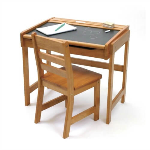 chalkdesk and chair