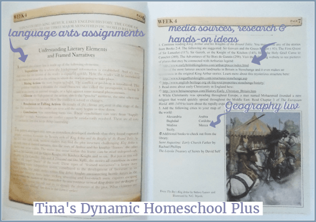 Beautiful Feet Teacher's Guide @ Tina's Dynamic Homeschool Plus