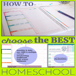 How to Choose the BEST Homeschool Lesson Planning Pages THIS Year 300X
