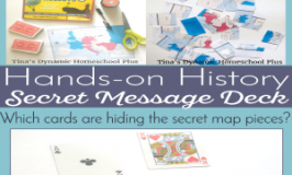 World War II Hands-On History - Make a Secret Message Deck. 300x