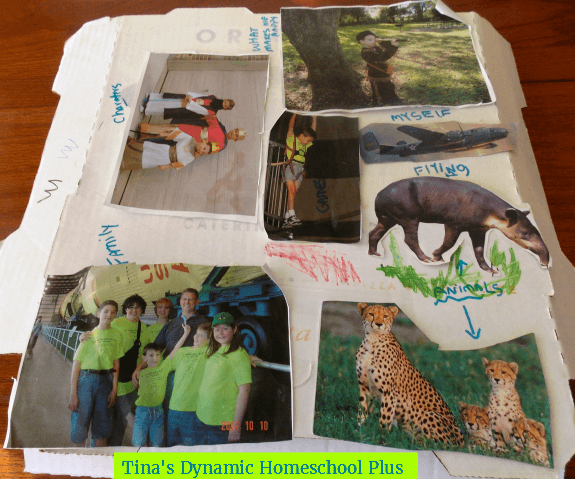 toss old art projects by the end of summer @ Tina's Dynamic Homeschool Plus