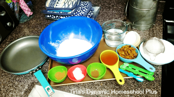 1. How to make World War II Ration Cakes @ Tina's Dynamic Homeschool Plus