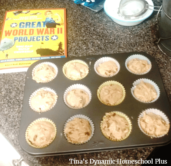 4. How to make World War II Ration Cakes @ Tina's Dynamic Homeschool Plus