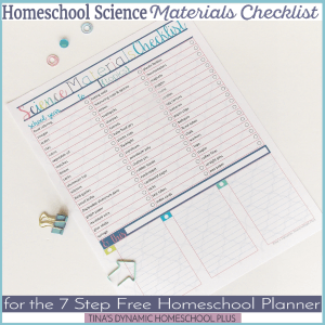 homeschool-science-materials-checklist-for-the-7-step-homeschool-planner-300x