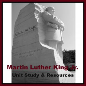 Martin Luther King Jr.  Unit Study