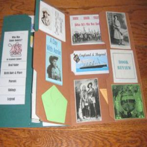 American History | Annie Oakley Lapbook
