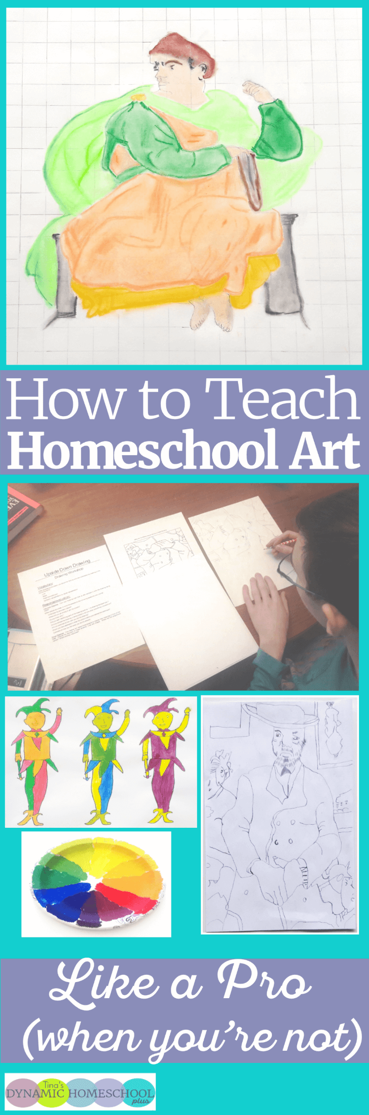 Teaching homeschool art use to be a subject that intimidated me. I didn't give up trying to teach it because I feel so much emphasis is always give on academics and not enough time to power up a child's creativity. Look at easy it can be to teach homeschool art. Click here to read the tips!