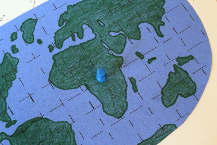 Finding a Location On the Map with Longitude and Latitude @ Tina's Dynamic Homeschool Plus