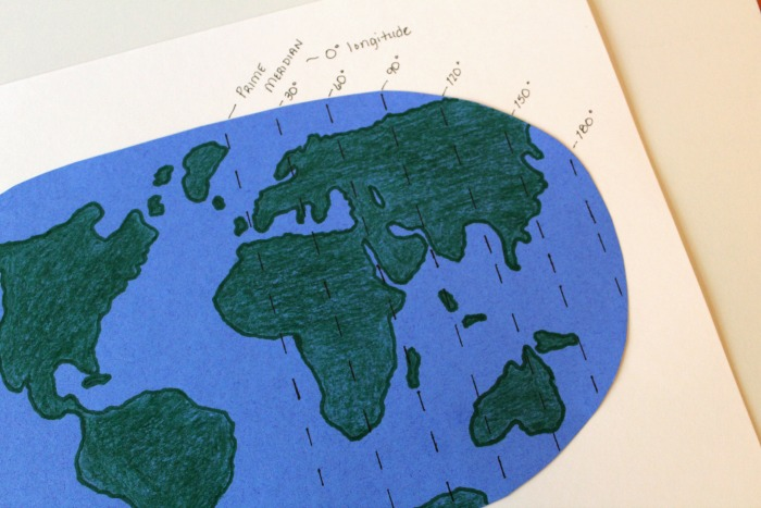 Finding Longitude and Latitude On a Map @ Tina's Dynamic Homeschool Plus