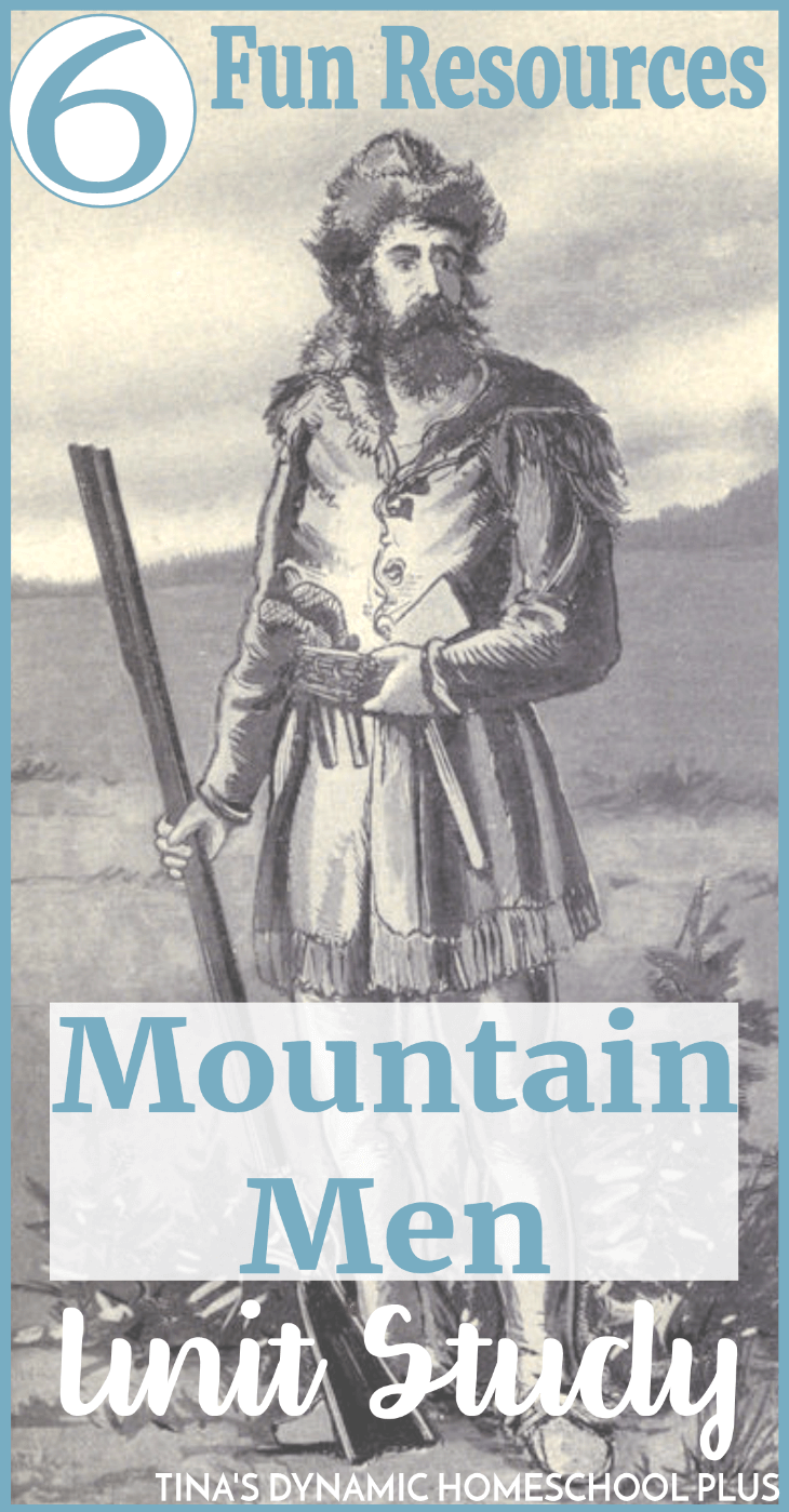Whether you're studying about the American Frontier, fur trade or mountain living, you'll bring history alive through studying the tough life of mountain men. Click here to grab these fun and free 6 resources!