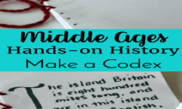 Middle Ages Hands-on History: Make a Codex Activity