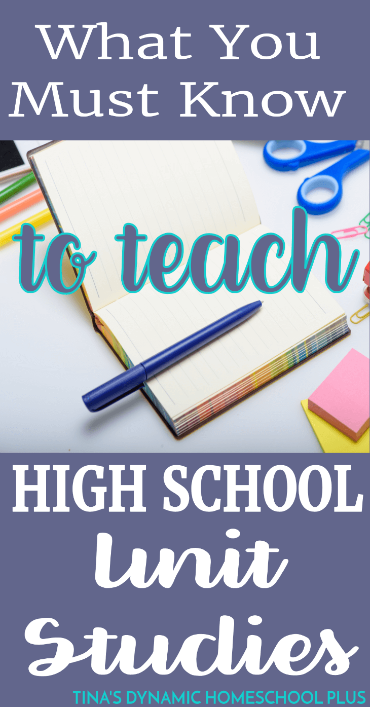 Until my sons reached high school, I didn't know if my unit study approach would meld with tracking credits and courses. Also, there didn't really seem an abundance of prepared high school unit studies. Click here to read these 3 must know tips!