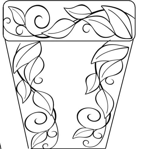 Flowering Plant Drawing Bible Plants Flower Pot Pdf