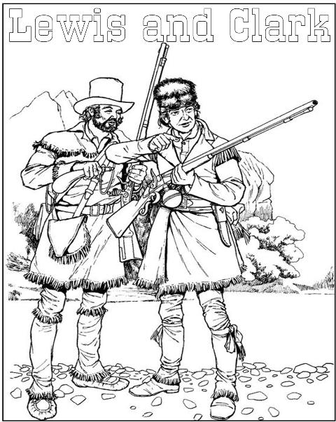 Free sacagawea coloring pages