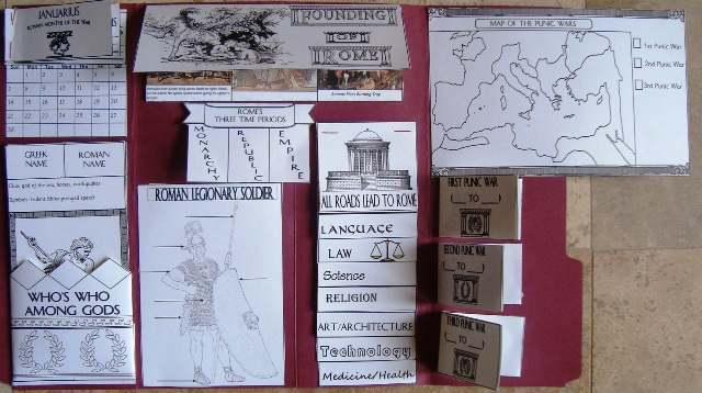 Ancient Rome Lapbook | Tina's Dynamic Homeschool Plus