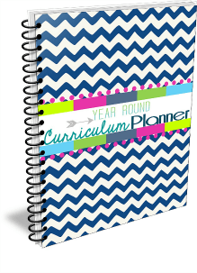 Blue Serenity Free Homeschool Planner @ Tina's Dynamic Homeschool Plus