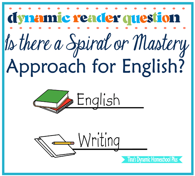 Dynamic Reader Question Is there a Spiral Or Mastery Approach For English