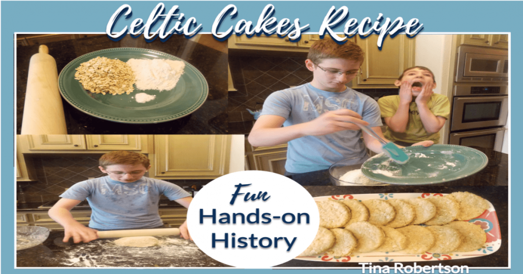 How to Make Celtic Cakes -Recipe for Hands-on History