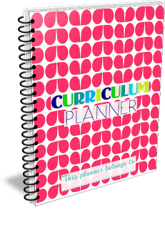 Summer Loving Free Homeschool Planner 231 x 319 @ Tina's Dynamic Homeschool Plus