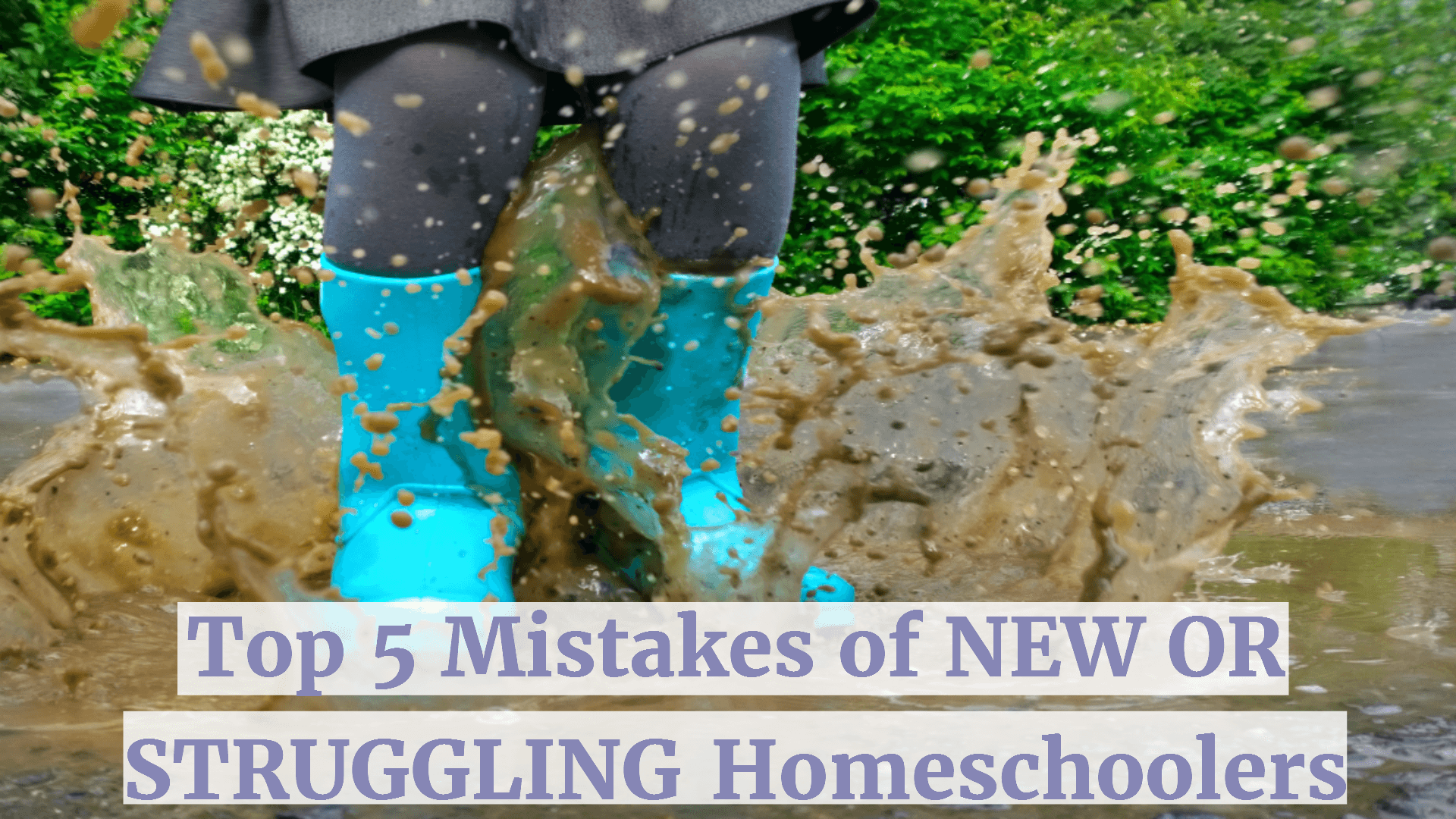 5 Top Mistakes of New or Struggling Homeschoolers