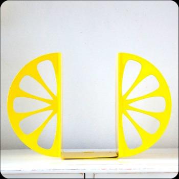 lemon bookends