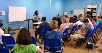 workshops for new homeschoolers