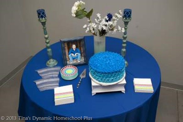 Cake and Food - Homeschool Graduation @ Tina's Dynamic Homeschool Plus