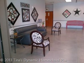 Welcoming Lobby Homeschool Graduation @ Tina's Dynamic Homeschool Plus