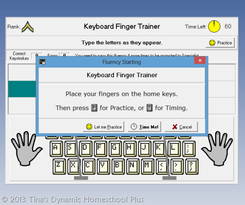Keyboard Classroom Finger Trainer | Tina's Dynamic Homeschool Plus