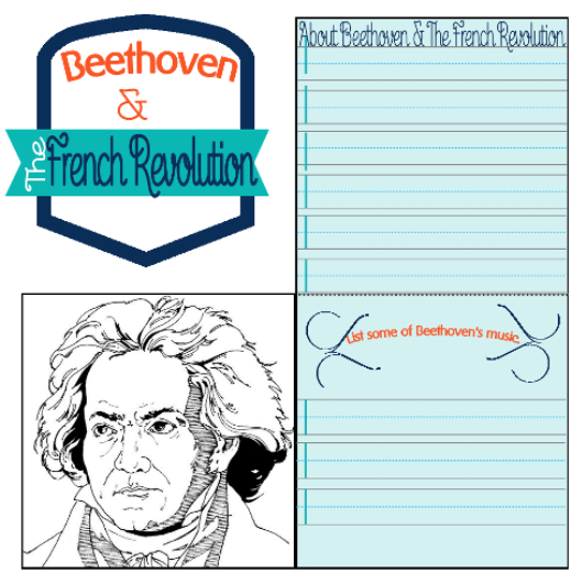 French Revolution & Beethoven @ Tina's Dynamic Homeschool Plus