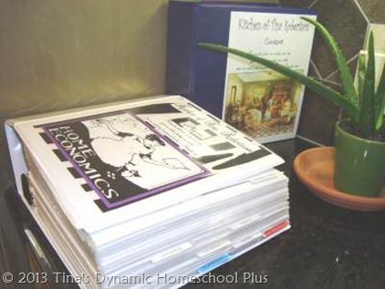 Homeschool Organization Recipes and Meal Planning