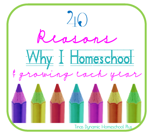 Reasons Why I Homeschool