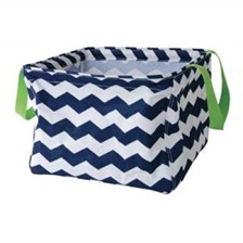 large navy basket