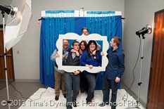 photography booth homeschool graduation @ Tina's Dynamic Homeschool Plus