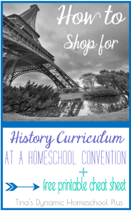 Homeschool History How to Shop For Curriculum at a Convention