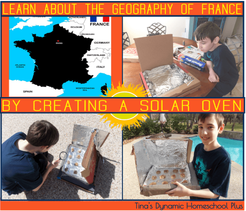 Soar Oven. Learn About the Geography of France by Creating a Solar Oven