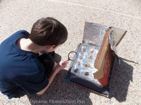 Making A Solar Oven 11