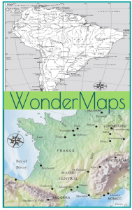 Geography Wonder Maps
