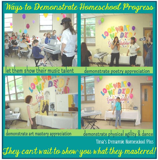 Ways to Show Homeschool Progress