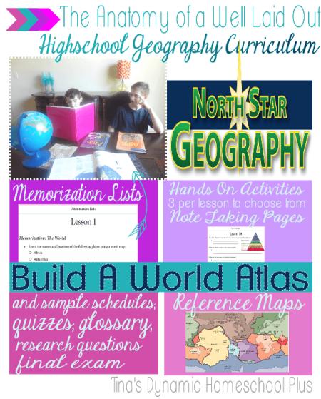 homeschoolhigschoolgeography north star geography