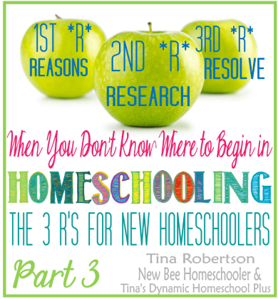 3 Rs of Homeschooling Part 3 Research