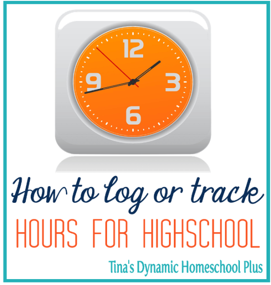 How to Log or Track Hours for High School? Click here to grab tips for a no fear homeschool high school year.